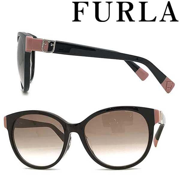 FURLA サングラス フルラ レディースピンクベージュグラデーション SFU-380J-0700 ブランド