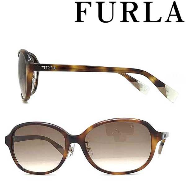FURLA サングラス フルラ レディースライトブラウングラデーション SFU-382J-0752 ブランド