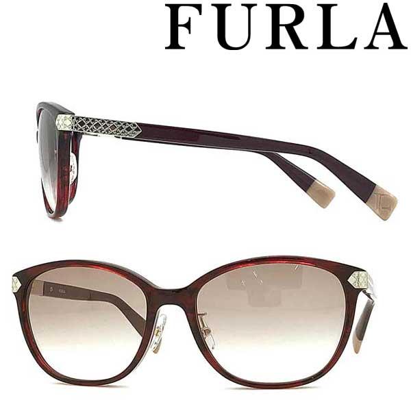 FURLA サングラス フルラ レディースベージュグラデーション SFU-383J-01G2 ブランド