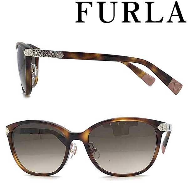 FURLA サングラス フルラ レディースグレイッシュブラウングラデーション SFU-383J-0752 ブランド