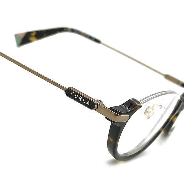 FURLA メガネフレーム フルラ ダークハバナ レディース 眼鏡 VFU 423J 0790 ブランドQtCdosxhrB