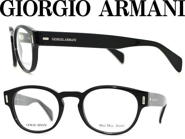 woodnet | Rakuten Global Market: Glasses GIORGIO ARMANI black ...