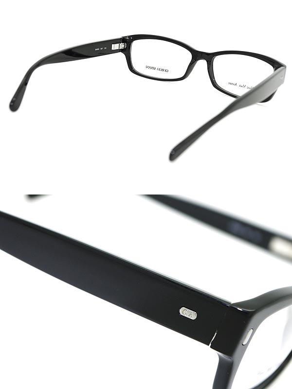 woodnet   Rakuten Global Market: GIORGIO ARMANI eyeglass frame black ...