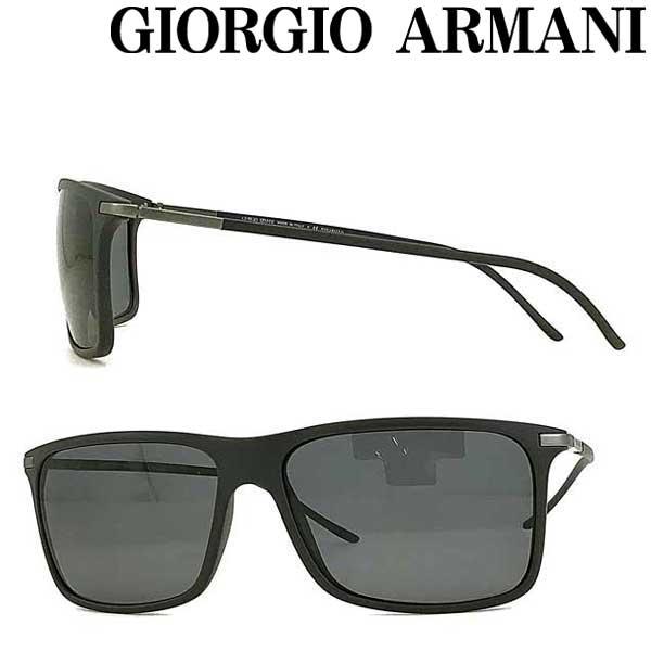 GIORGIO ARMANI サングラス ジョルジオアルマーニ メンズ&レディース ブラック ARM-GA-8034-5060-81 ブランド