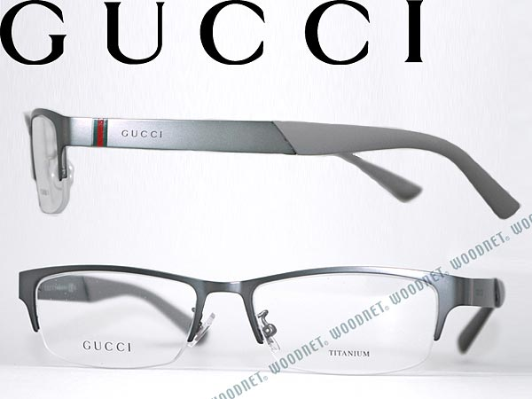 woodnet | Rakuten Global Market: Glasses frames GUCCI Matt Gunmetal ...