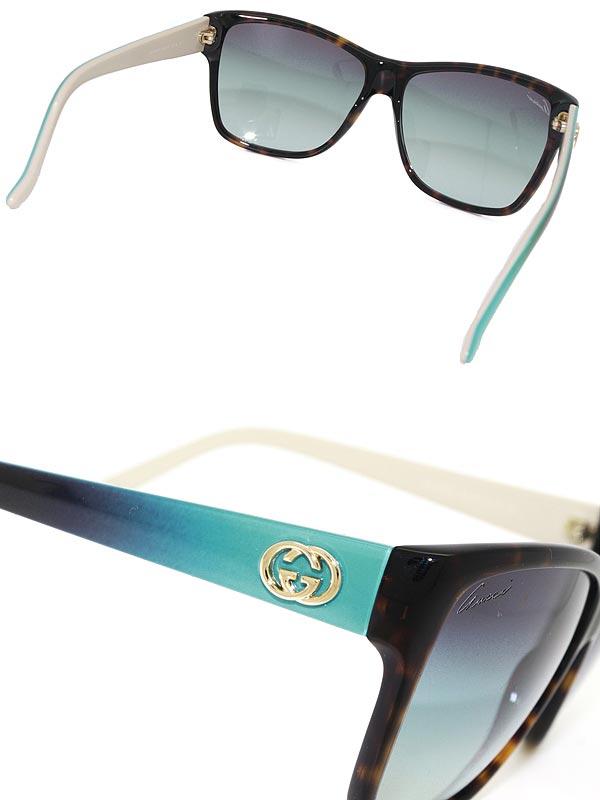 97a54bdad4e Branded mens   ladies   men GUCCI GUC-GG-3579-S-WQ2-YS blue gradient Gucci  sunglasses for   woman sex for   UV UV kathrens   drive   fishing    outdoors ...