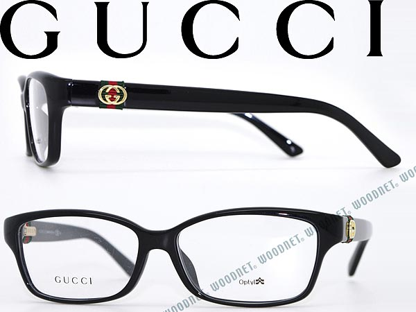 cf342831e962 woodnet: Glasses frames Gucci black GUCCI eyeglasses glasses GG-3670F-D28  WN0054 branded/mens & ladies / men for & woman sex for and once  with ITA ...