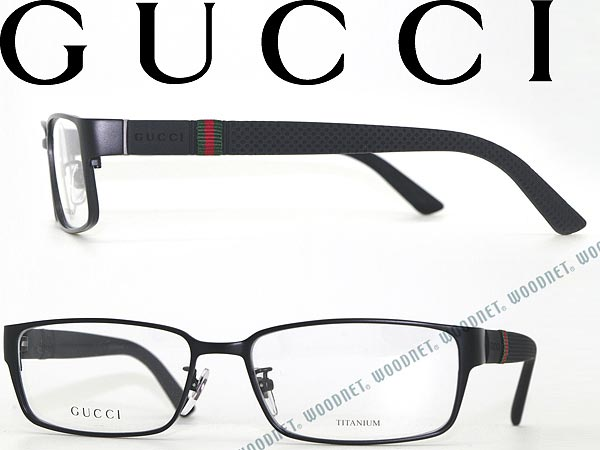 7bdb34e9a94 GUCCI glasses square type matte black Gucci glasses frames glasses  GG-9699F-M7A WN0054 branded mens  amp  ladies   men for  amp  woman sex for  and once with ...