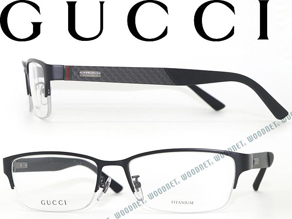 woodnet | Rakuten Global Market: GUCCI glasses Naylor-matte black ...