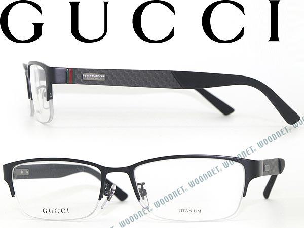 woodnet: GUCCI glasses Naylor-matte black Gucci eyeglass frames ...