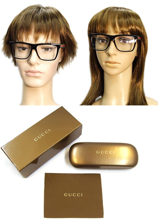 5c511bde31 Glasses frames Gucci black × green x red Wellington-GUCCI eyeglasses glasses  GUC-GG-1008-51N branded mens   ladies   men for   woman of for and once  with ...