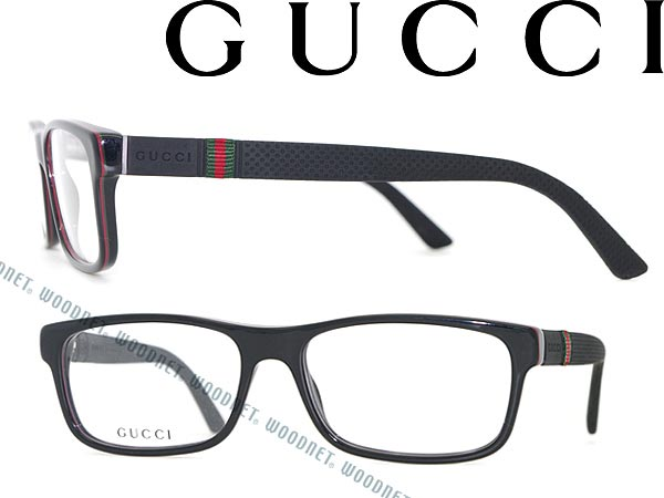 gucci glasses frames black square type gucci eyeglasses glasses guc gg 1066 4up