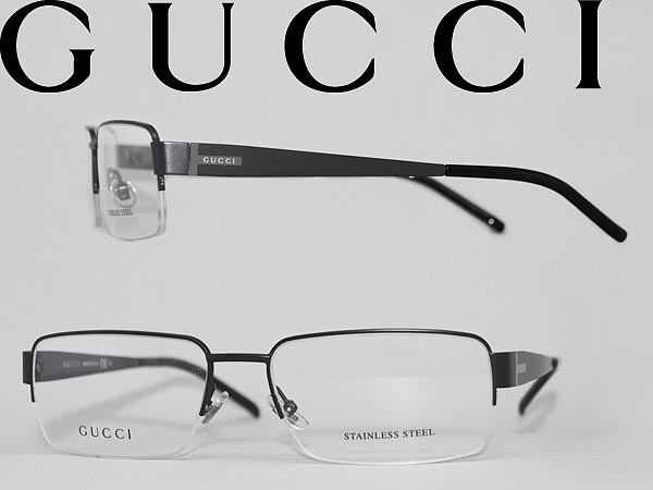 woodnet | Rakuten Global Market: Gucci eyeglasses frame Matt Black ...