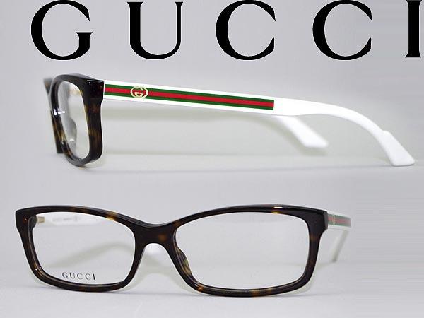 8070e3fd86a5 Glasses Gucci tortoiseshell brown × white × green x red square  type GUCCI glasses ...