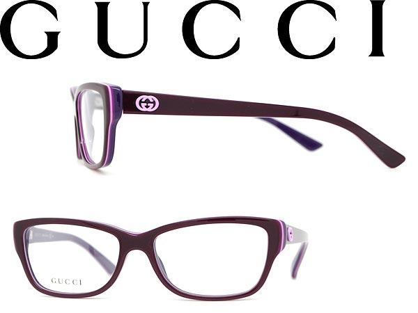 woodnet | Rakuten Global Market: Glasses GUCCI Burgundy × purple ...
