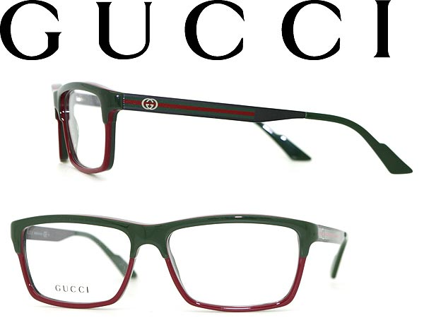 woodnet: Glasses GUCCI green x red Gucci eyeglass frames eyeglasses ...