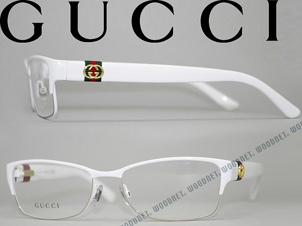 woodnet | Rakuten Global Market: Gucci glasses white thurmont type ...
