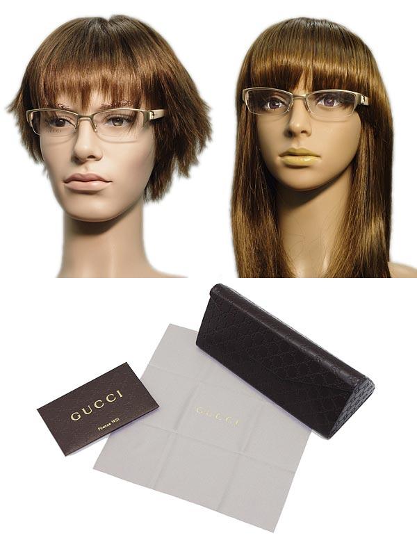 2d13336c307a ... Glasses frames Gucci Gold nylon type GUCCI eyeglasses glasses GUC-GG- 4254-4TX ...