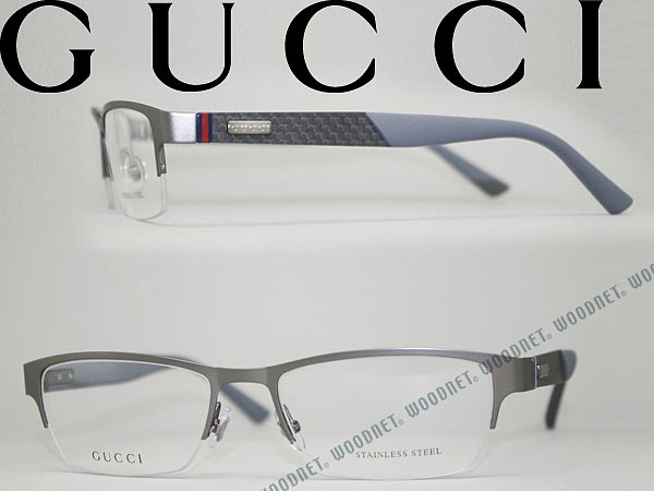 878377d0b714 Gucci glasses frames Matt Gunmetal Silver GUCCI eyeglasses glasses  GG-2250-4VQ WN0054 branded mens   ladies   men for   woman sex for and once  with ITA ...