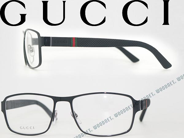 ed50f7930ae3 Gucci glasses black GUCCI eyeglass frames glasses GG-2271-M56 branded/mens  & ...
