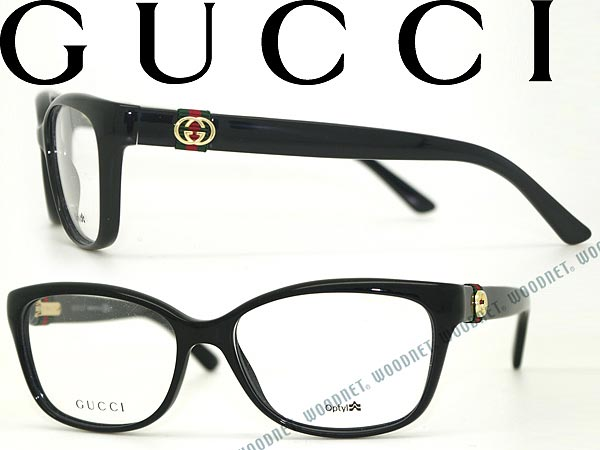 woodnet | Rakuten Global Market: GUCCI glasses black Gucci eyeglass ...