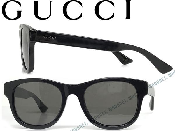 GUCCI グッチ ブラック サングラス メンズ&レディース GUC-GG-0003S-001 ブランド