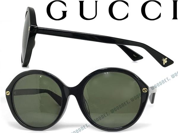 GUCCI グッチ ブラック サングラス メンズ&レディース GUC-GG-0023SA-001 ブランド
