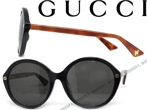 GUCCI グッチ ブラック サングラス UVカット メンズ&レディース GUC-GG-0023SA-003 ブランド