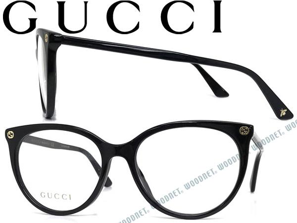 GUCCI グッチ ブラック メガネフレーム メンズ&レディース GUC-GG-0093O-001 ブランド