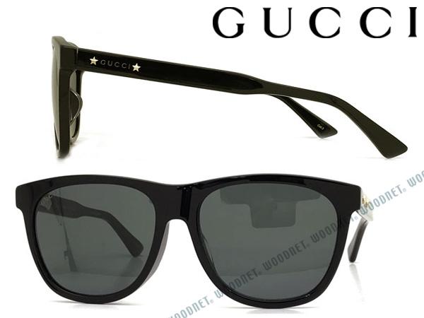 GUCCI サングラス グッチ ブラック メンズ&レディース GUC-GG-0266SA-001 ブランド