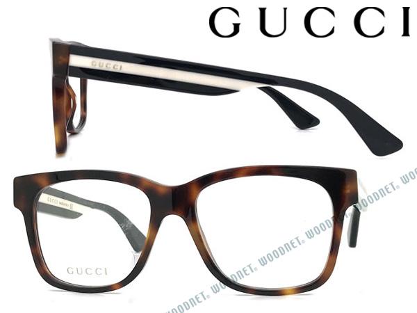 GUCCI メガネフレーム グッチ メンズ&レディース マーブルブラウン 眼鏡 GUC-GG-0342O-005 ブランド