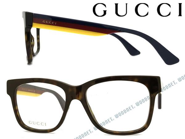 GUCCI メガネフレーム グッチ メンズ&レディース ダークマーブルブラウン 眼鏡 GUC-GG-0342O-006 ブランド