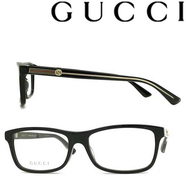 GUCCI メガネフレーム グッチ メンズ&レディース ブラック 眼鏡 GUC-GG-0378O-001 ブランド