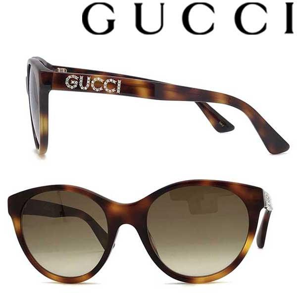 GUCCI サングラス UVカット グッチ レディース グラデーションブラウン GUC-GG-0419S-003 ブランド