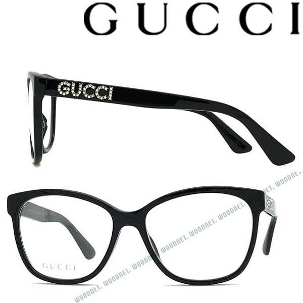 GUCCI メガネフレーム グッチ メンズ&レディース ブラック 眼鏡 GUC-GG-0421O-001 ブランド