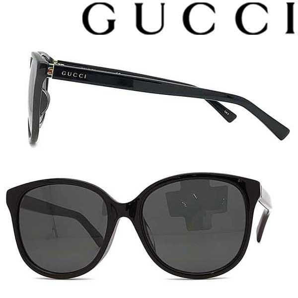 GUCCI サングラス グッチ レディース ブラック ブラック GUC-GG-0461SA-001 ブランド
