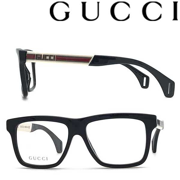 GUCCI メガネフレーム グッチ メンズ&レディース ブラック 眼鏡 GUC-GG-0464O-001 ブランド