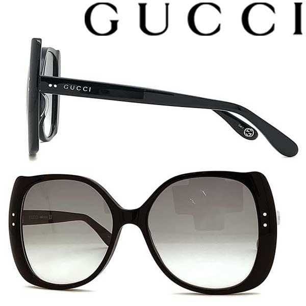 GUCCI サングラス UVカット グッチ レディース ブラック グラデーションブラック GUC-GG-0472S-001 ブランド