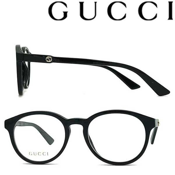 GUCCI メガネフレーム グッチ メンズ&レディース ブラック GUC-GG-0485O-001 ブランド
