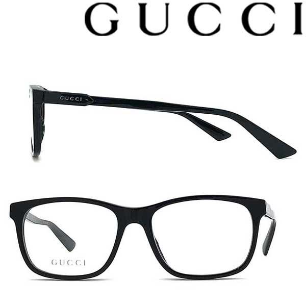 GUCCI メガネフレーム グッチ メンズ&レディース ブラック GUC-GG-0490O-001 ブランド