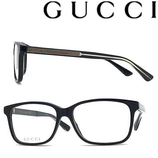 GUCCI メガネフレーム グッチ メンズ&レディース ブラック GUC-GG-0530O-001 ブランド