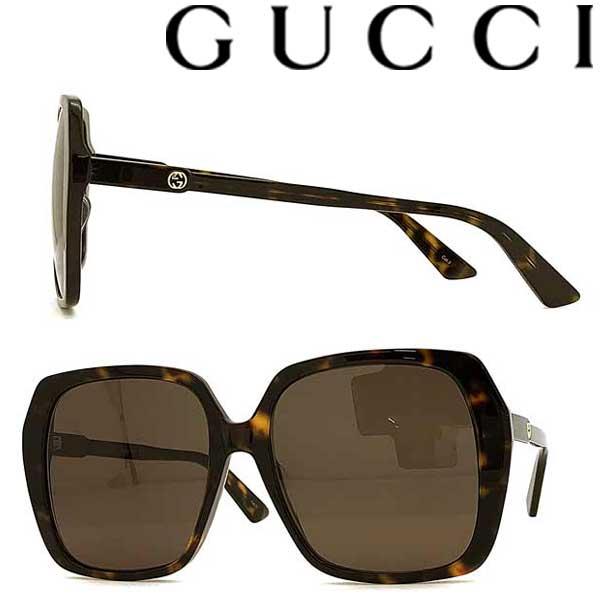 GUCCI サングラス グッチ メンズ&レディース UVカット ブラウン GUC-GG-0533SA-002 ブランド