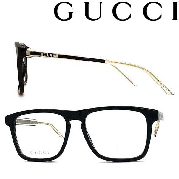 GUCCI メガネフレーム グッチ メンズ&レディース ブラック 眼鏡 GUC-GG-0561O-001 ブランド