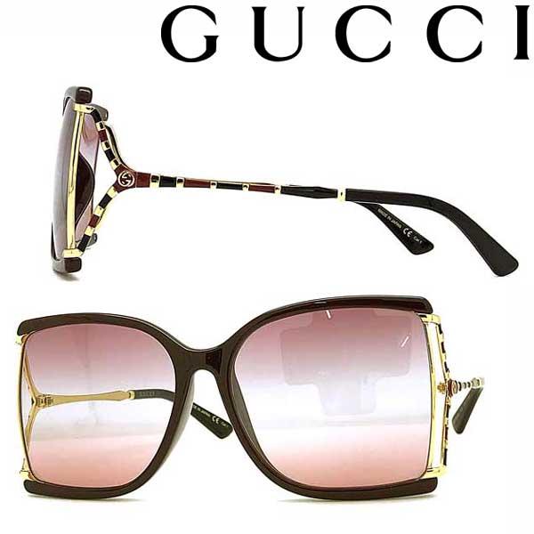 GUCCI サングラス グッチ メンズ&レディース UVカット グラデーションピンク×レッド GUC-GG-0592SK-004 ブランド