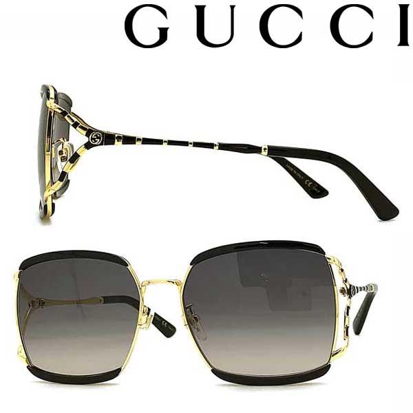 GUCCI サングラス グッチ メンズ&レディース UVカット グラデーションブラック GUC-GG-0593SK-001 ブランド