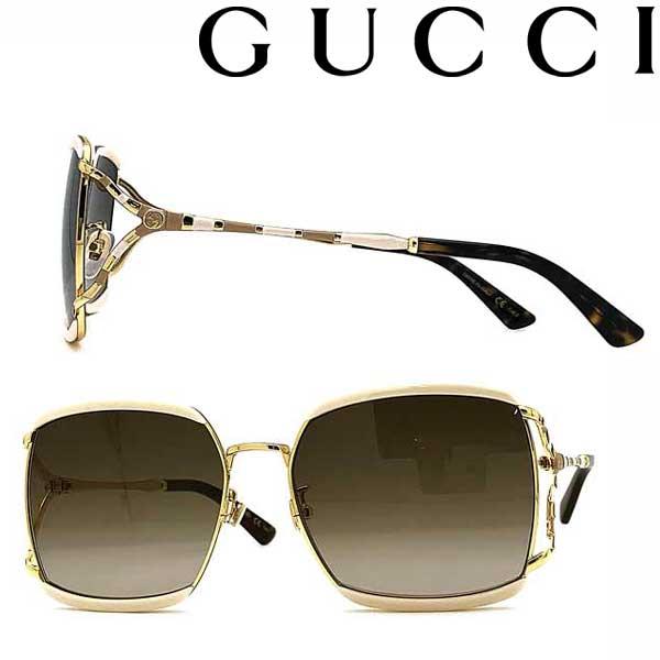 GUCCI サングラス グッチ メンズ&レディース UVカット グラデーションブラウン GUC-GG-0593SK-003 ブランド