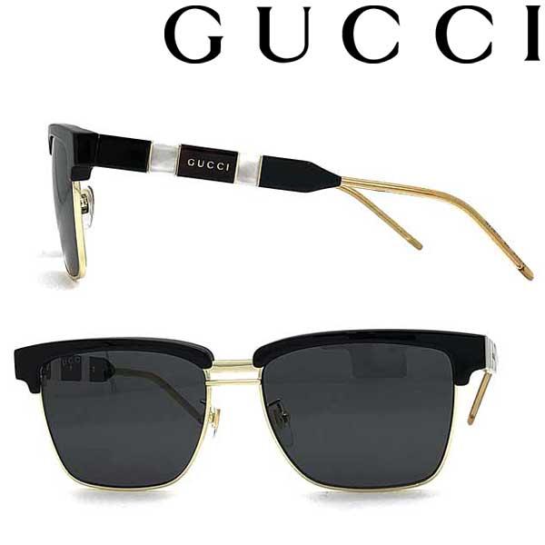 GUCCI サングラス グッチ メンズ&レディース ブラック GUC-GG-0603S-001 ブランド