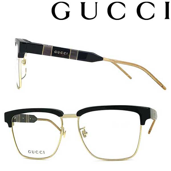 GUCCI メガネフレーム グッチ メンズ&レディース ブラック 眼鏡 GUC-GG-0605O-006 ブランド