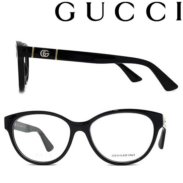 GUCCI メガネフレーム グッチ メンズ&レディース ブラック 眼鏡 GUC-GG-0633O-001 ブランド