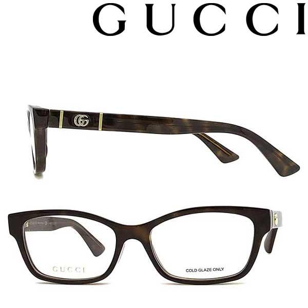 GUCCI メガネフレーム グッチ メンズ&レディース マーブルブラウン 眼鏡 GUC-GG-0635O-005 ブランド